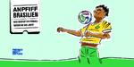 Anpfiff Brasilien