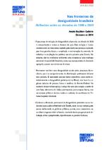 Nas fronteiras da desigualdade brasileira
