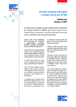 Erosão da base tributária e elisão fiscal por ETNs