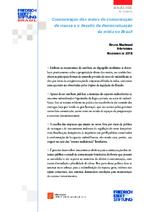 Concentração dos meios de comunicação de massa e o desafio da democratização da mídia no Brasil