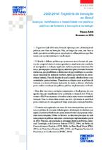 2002 - 2014: trajetória da inovação no Brasil