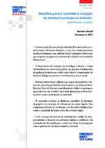 Desafios para o combate à violação de direitos humanos na internet