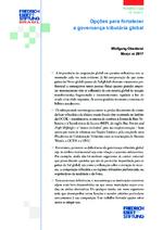 Opções para fortalecer a governança tributária global