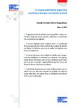 A responsabilidade legal dos auditores sociais na indústria têxtil