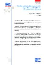 Trabalho precário, desenvolvimento e a questão social no Brasil