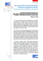 Para uma política nacional de direitos humanos e empresas no Brasil