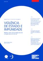Violência de estado e impunidade